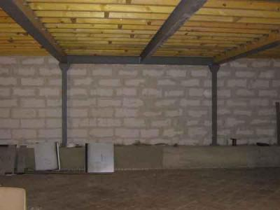Charpente métallique type loft