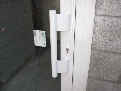 Portes palières aluminium SCHÜCO