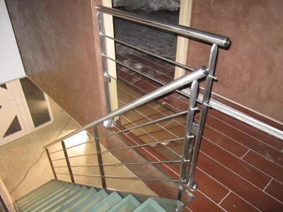 Escaliers inox