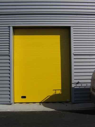 Porte industrielle menuiserie ext rieure porte et for Flo fermeture porte garage