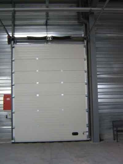 Porte industrielle menuiserie ext rieure porte et - Porte de garage industrielle occasion ...