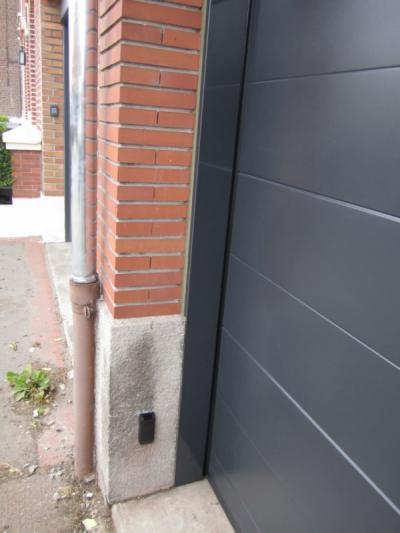 Porte sectionnelle habitation