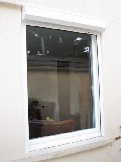 Menuiseries aluminium SCHÜCO blanc 9016