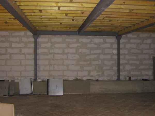 charpente m tallique type loft m tallerie petite charpente m tallique. Black Bedroom Furniture Sets. Home Design Ideas