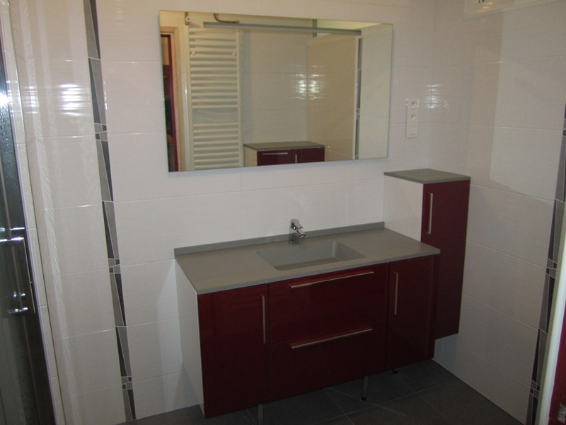Am nagement compl t d 39 une salle de douches plomberie for Sanitaire salle de bain