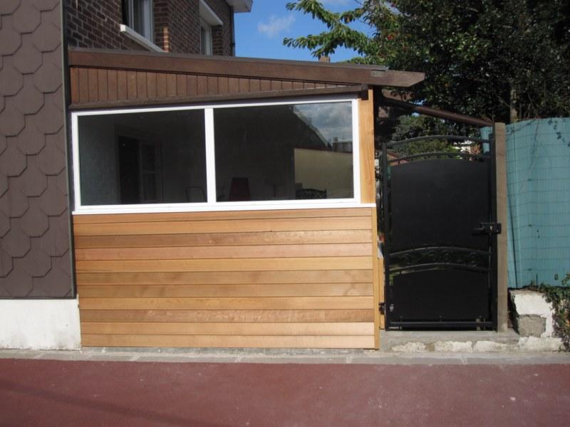 am nagement sous une v randa r novation pl trerie cloison doublage. Black Bedroom Furniture Sets. Home Design Ideas