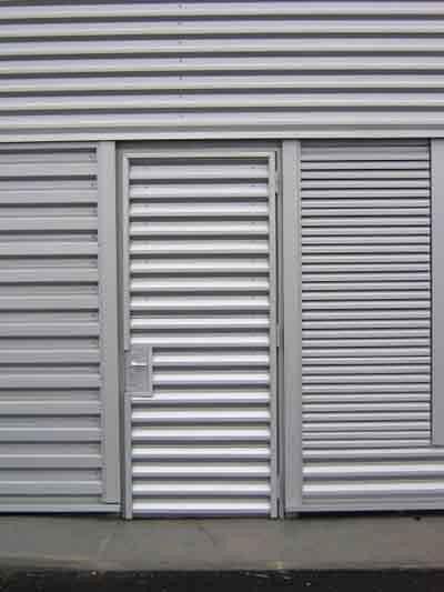Installation porte m tal nord pose porte m tallique nord - Porte metallique exterieure ...